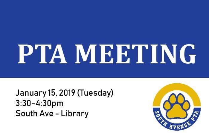 pta meeting 1-15